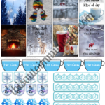 Free January Planner Stickers