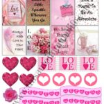 Free February Planner Stickers