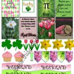 Free March Planner Stickers