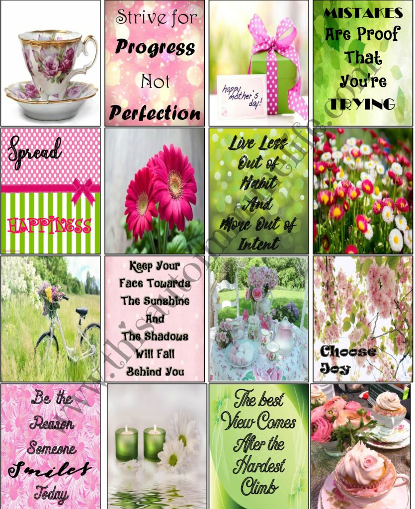Free May Planner Stickers