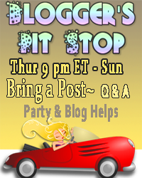 Blogger's Pit Stop #216