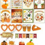 November 2017 Planner Stickers