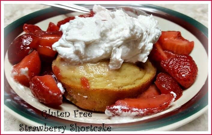 Gluten Free Strawberry Shortcake, Dairy and Sugar Free June Pinterest Challenge