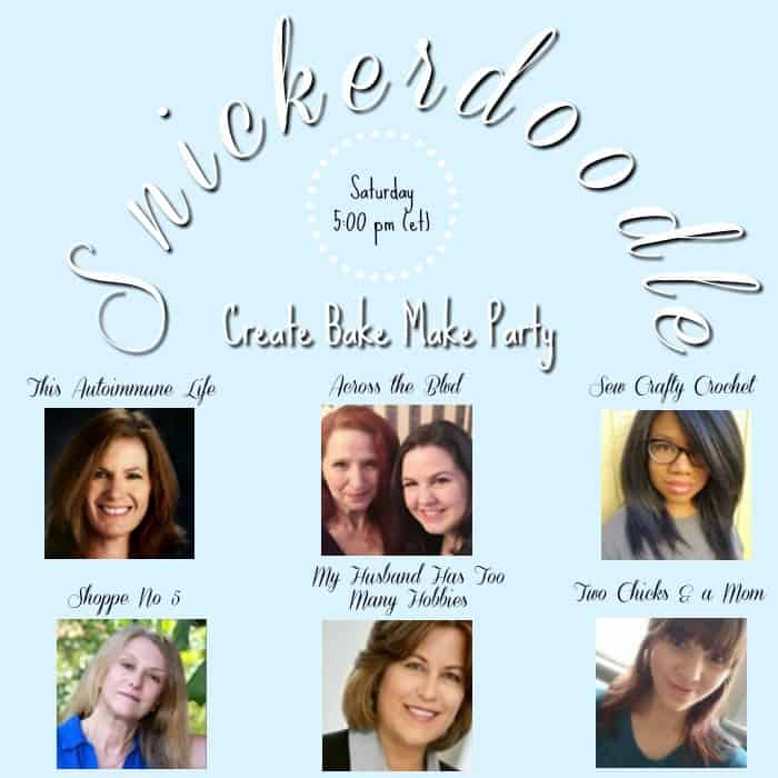 Snickerdoodle Create Bake Make Party #241