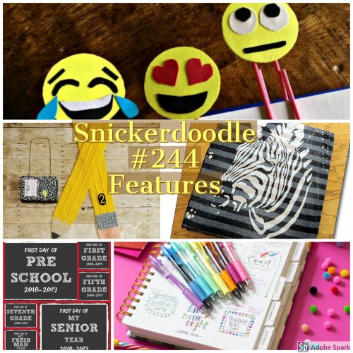 Snickerdoodle Create Bake Make Party #245