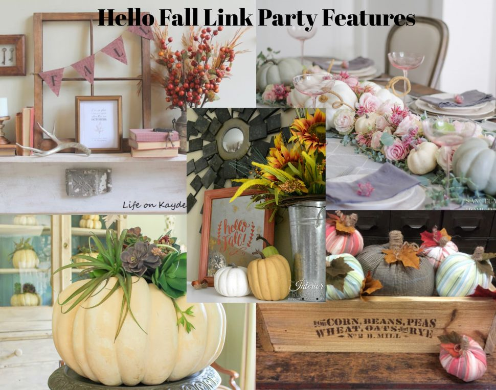 Hello Fall Link Party Features from www.thisautoimmunelife.com