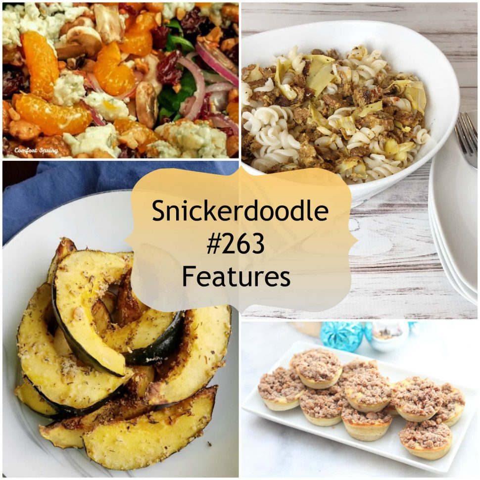 Snickerdoodle Create Bake Make Party #264