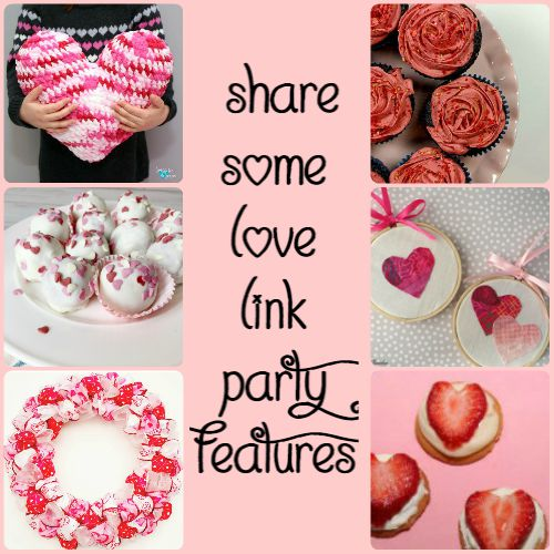 Share Some Love Link Party Features