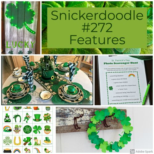 Snickerdoodle Create Bake Make Party #273