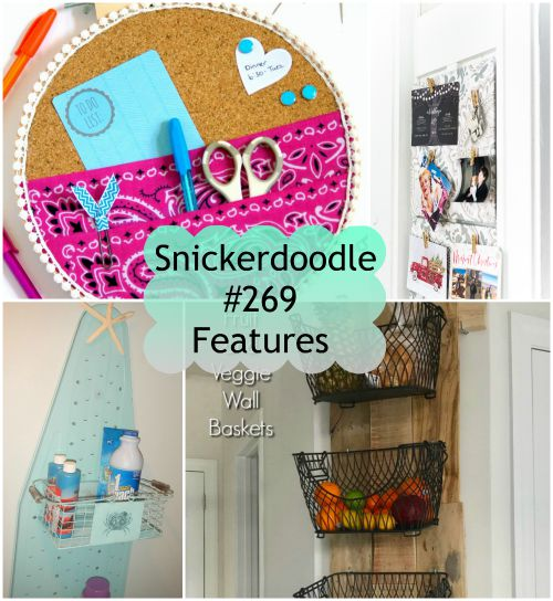 Snickerdoodle Create Bake Make Party #270