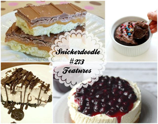 Snickerdoodle Create Bake Make Party #274