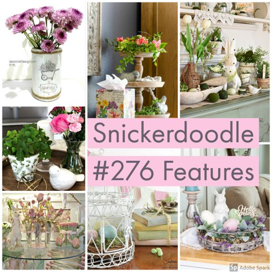Snickerdoodle Create Bake Make Party #277