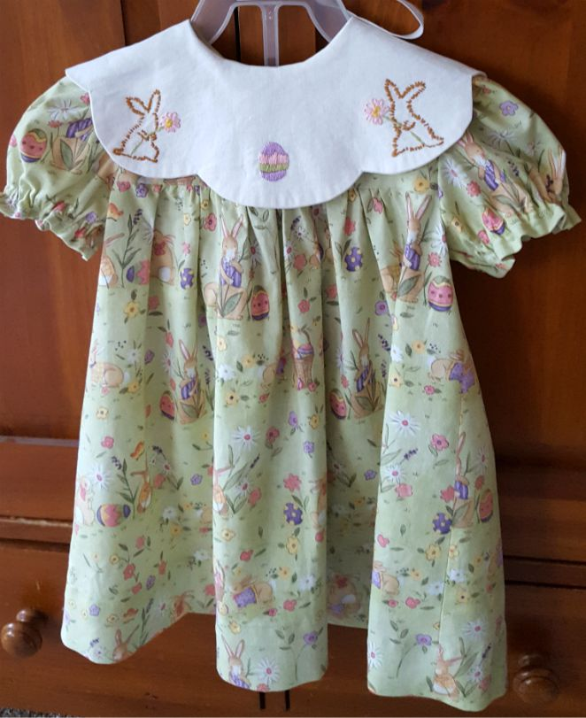 Baby Easter Dress #Easter #Baby #EasterDress