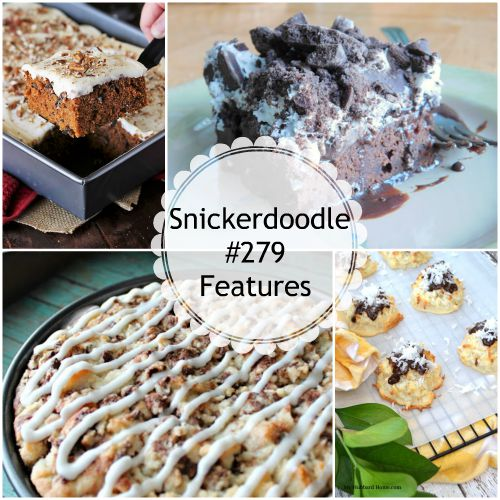Snickerdoodle Create Bake Make Party #280