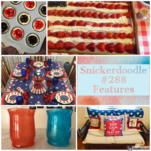 Snickerdoodle Create Bake Make Party #290
