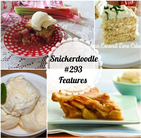 Snickerdoodle Create Bake Make Party #294 from www.thisautoimmunelife.com #Snickerdoodle