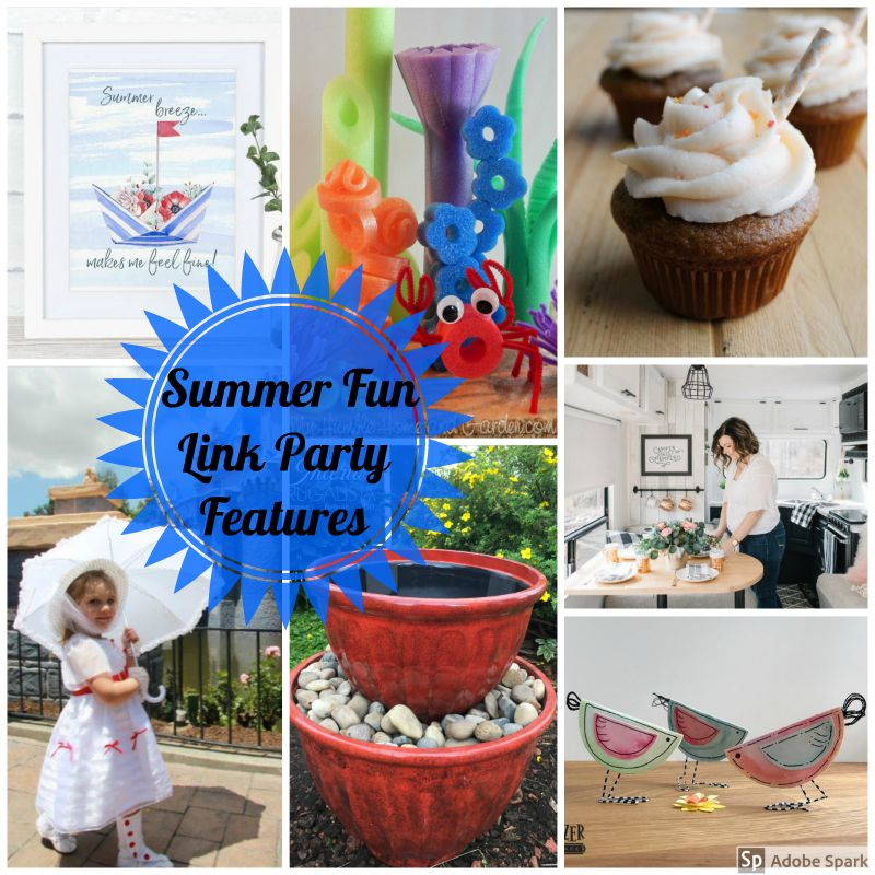 Summer Fun Link Party Features