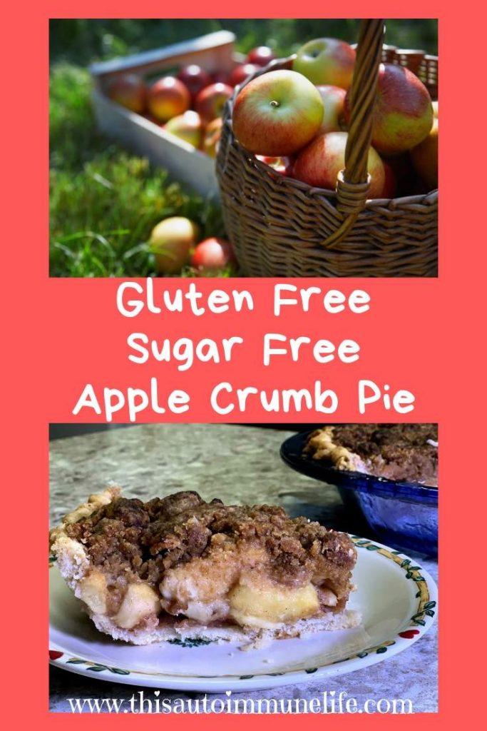 Gluten & Sugar Free Deep Dish Apple Pie from www.thisautoimmunelife.com #applepie #fall #glutenfree #sugarfree #deepdish