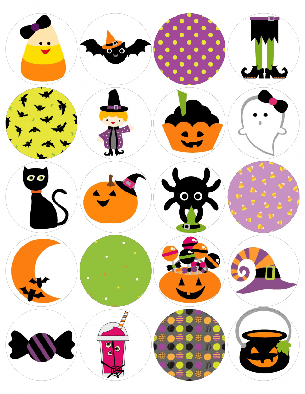 Free Halloween Stickers from www.thisautoimmunelife.com #Halloween #free #stickers