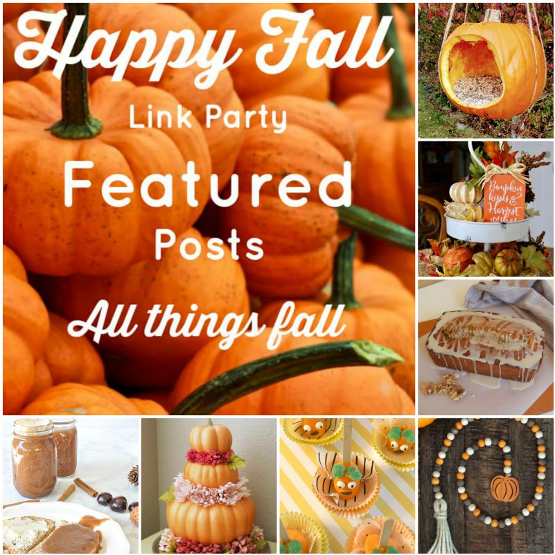 Happy Fall Link Party Features from www.thisatuoimmunelife.com #happyfall