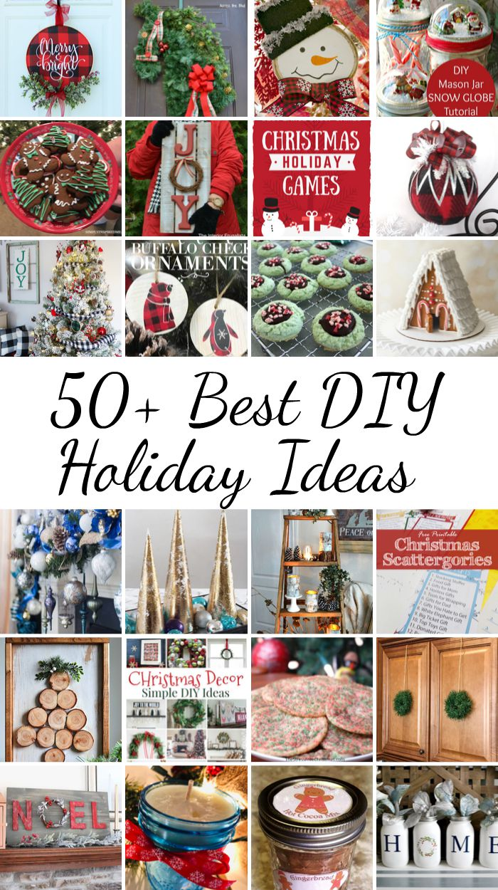 2019 Holiday Ideas Blog Hop Kickoff - 50+ Best DIY Holiday Ideas from www.thisautoimmunelife.com #DIY #Christmas #Holiday #holidaycrafting #holidayrecipes