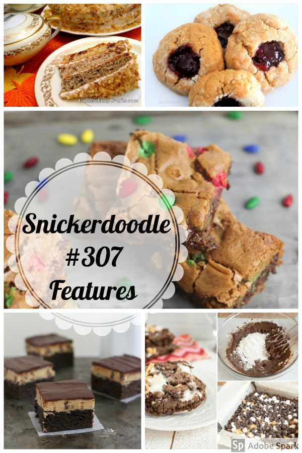 Snickerdoodle Create Bake Make Party #308