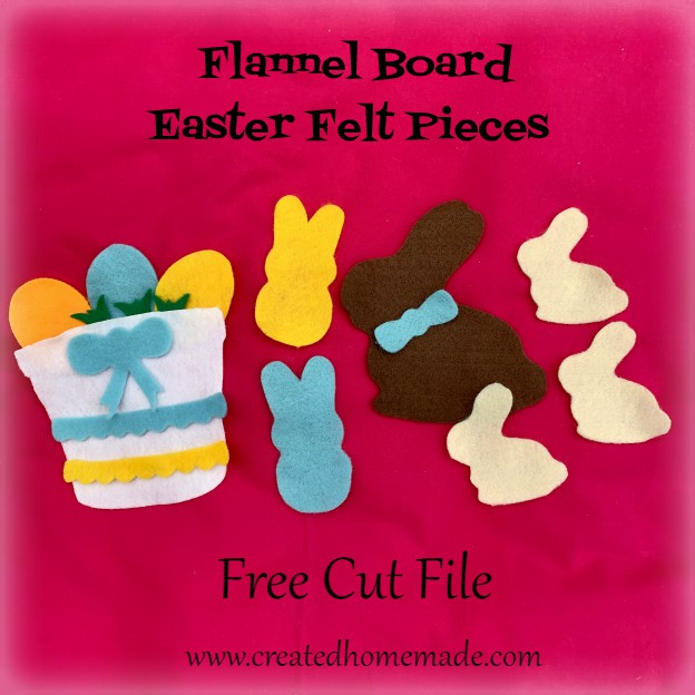 Flannel Board Easter Felt Pieces from www.thisautoimmunelife.com #Easter #FlannelBoard #kidsactivities