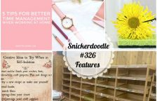 Snickerdoodle Create Bake Make Party #327